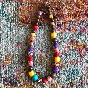 Jumbo Beaded Necklace